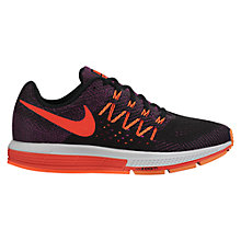 Buy Nike Air Zoom Vomero 10 Women's Running Shoes, Crimson/Black Online at johnlewis.com