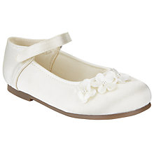Buy John Lewis Luna Daisy Shoes, Ivory Online at johnlewis.com