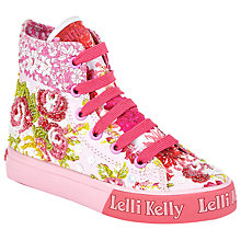 Buy Lelli Kelly Eliza Fantasy Patchwork Mid- Lace-Up Boots, Multi Online at johnlewis.com