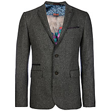 Buy Ted Baker Illion Modern Fit Jacket, Grey Online at johnlewis.com
