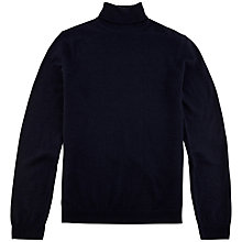 Buy Ted Baker Rinko Roll Neck Jumper, Navy Online at johnlewis.com