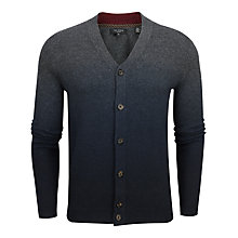 Buy Ted Baker Conveks V-Neck Cardigan, Charcoal Online at johnlewis.com