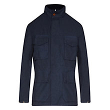 Buy Barbour Rig Casual Jacket, Navy Online at johnlewis.com