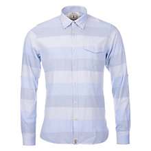 Buy Barbour Sailor Long Sleeve Shirt, Sky Blue Online at johnlewis.com