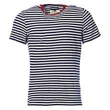 Buy Barbour Ark Tee, Navy Online at johnlewis.com