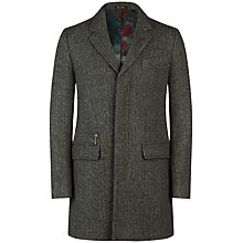 Buy Ted Baker Halamo Overcoat, Grey Online at johnlewis.com