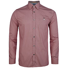 Buy Ted Baker Burcin Micro Check Dobby Shirt Online at johnlewis.com