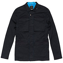 Buy Denham James Chino Jacket, Dark Navy Online at johnlewis.com
