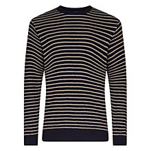 Buy Barbour Legion Strap Jumper, Navy Online at johnlewis.com