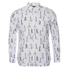 Buy Barbour Watch Tower Shirt, Ecru Online at johnlewis.com