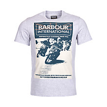 Buy Barbour International Racing T-Shirt Online at johnlewis.com
