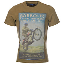Buy Barbour Sport Rider T-Shirt Online at johnlewis.com