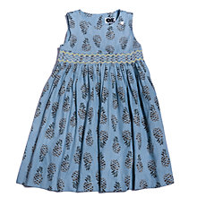 Buy Question Everything Girls' Pineapple Print Dress, Blue Online at johnlewis.com