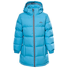 Buy Trespass Girls' Padded Bubble Jacket, Blue Online at johnlewis.com