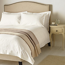 Buy John Lewis Lace Embroidery Bedding, White Online at johnlewis.com