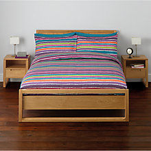 Buy John Lewis Broken Stripe Duvet Cover and Pillowcase Set, Multi Online at johnlewis.com