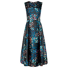 Buy L.K. Bennett Kensal Print Dress, Black Online at johnlewis.com