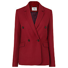 Buy L.K. Bennett Atida Blazer, Cranberry Online at johnlewis.com