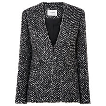 Buy L.K. Bennett Malen Tweed Jacket, Black/Cream Online at johnlewis.com