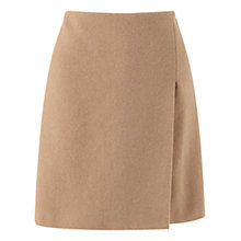 Buy Jigsaw Wool Wrap Skirt, Camel Online at johnlewis.com