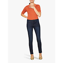 "Buy Jigsaw Richmond 30"" Skinny Jeans, Indigo Online at johnlewis.com"