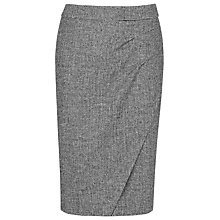 Buy L.K. Bennett Quentin Pencil Skirt, Black/Cream Online at johnlewis.com