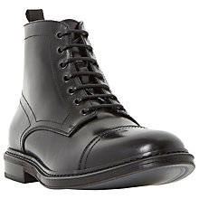 Buy Dune Connelly Leather Toecap Boots Online at johnlewis.com