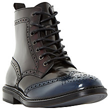 Buy Dune Cruncher Brogue Lace Up Boots Online at johnlewis.com