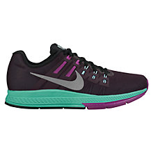 Buy Nike Air Zoom Structure 19 Flash Women's Running Shoe, Blue/Black Online at johnlewis.com
