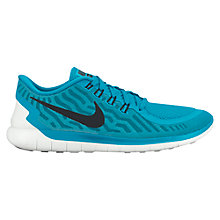 Buy Nike Free 5.0 Men's Running Shoes, Blue Lagoon Online at johnlewis.com