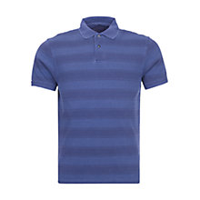 Buy Barbour Laundryman Striped Stack Polo Top, Inky Blue Online at johnlewis.com