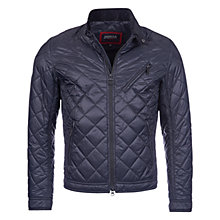 Buy Barbour International Triumph Quilted Jacket, Black Online at johnlewis.com