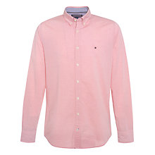 Buy Tommy Hilfiger Felga Stripe Shirt, Cranberry Online at johnlewis.com