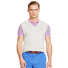 Buy Polo Golf by Ralph Lauren V-Neck Vest Jumper Online at johnlewis.com