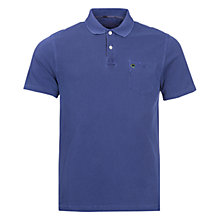 Buy Barbour Laundryman Laundered Pocket Polo Top, Inky Blue Online at johnlewis.com