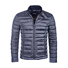 Buy Barbour International Hartwell Padded Jacket, Black Online at johnlewis.com