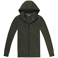 Buy Tommy Hilfiger Harry Full Zip Hoodie, Rosin Online at johnlewis.com