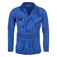 Buy Barbour International Triumph Shield Jacket, Indigo Online at johnlewis.com