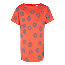 Buy Kin by John Lewis Donut Print T-Shirt Dress, Red Online at johnlewis.com