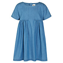Buy Kin by John Lewis Girls' Chambray Dress, Denim Blue Online at johnlewis.com