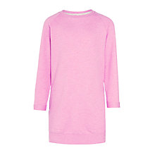 Buy Kin by John Lewis Girls' Sweat Dress, Pink Online at johnlewis.com