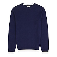 Buy Reiss Hope Contrast Hem Jumper Online at johnlewis.com