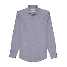 Buy Reiss Nolita Houndstooth Check Shirt, Grey Online at johnlewis.com