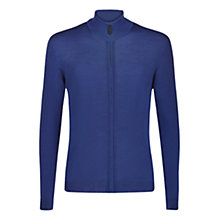 Buy Aquascutum Tomkis Merino Wool Cardigan, Blue Online at johnlewis.com