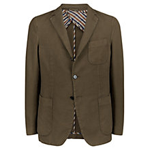 Buy Aquascutum Bingham Cotton Cashmere Blazer, Green Online at johnlewis.com