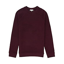 Buy Reiss Troy Patterned Sweatshirt Online at johnlewis.com