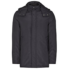 Buy Reiss Perry Hooded Jacket, Navy Online at johnlewis.com
