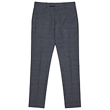 Buy Reiss Jones Prince of Wales Check Slim Fit Trousers, Navy Online at johnlewis.com