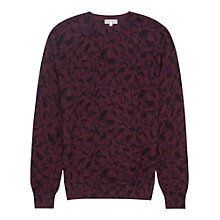 Buy Reiss Church Printed Lightweight Jumper Online at johnlewis.com
