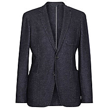 Buy Reiss Cassius Patch Pocket Blazer, Navy/Ivory Online at johnlewis.com